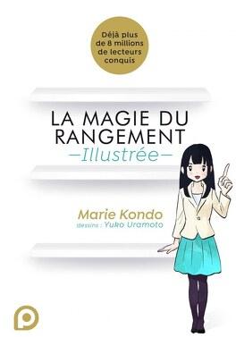 Couverture du livre : La magie du rangement illustrée