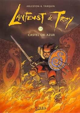 Couverture du livre : Lanfeust de Troy, Tome 3 : Castel Or-Azur