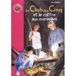 Couverture du livre : Le Club des Cinq et le coffre aux merveilles