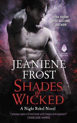Couverture du livre : The Night Rebel, Tome 1: Shades of Wicked