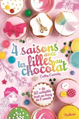 Couverture du livre : 4 saisons avec les filles au chocolat