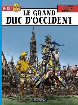 Couverture du livre : Jhen, Tome 12 : Le Grand Duc d'Occident