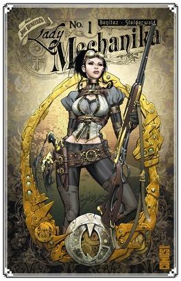 Couverture du livre : Lady Mechanika, Tome 1 : Le Mystère du corps mécanique