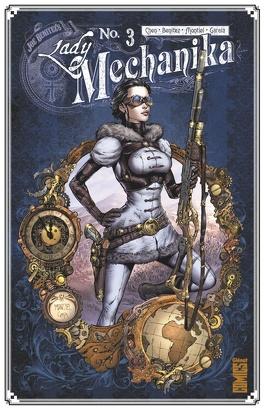 Couverture du livre : Lady Mechanika, Tome 3 : La Tablette des destinées