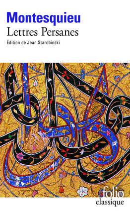 Couverture du livre : Lettres persanes