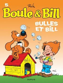Couverture du livre : Boule & Bill, tome 5 : Bulles et Bill