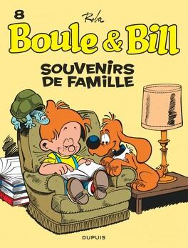 Couverture du livre : Boule & Bill, tome 8 : Souvenirs de famille