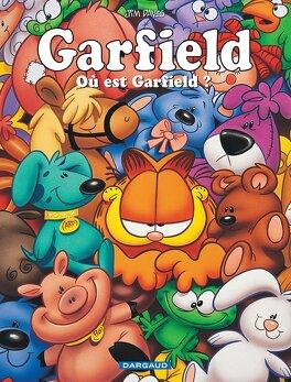 Couverture du livre : Garfield, tome 45 : Où est Garfield ?