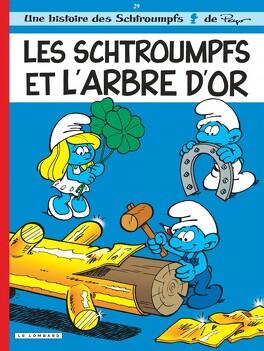 Couverture du livre : Les Schtroumpfs, Tome 29 : Les Schtroumpfs et l'Arbre d'or