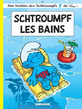 Couverture du livre : Les Schtroumpfs, Tome 27 : Schtroumpf les Bains
