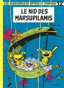 Couverture du livre : Spirou et Fantasio, tome 12 : Le Nid des Marsupilamis