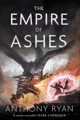 Couverture du livre : Dragon Blood, Tome 3 : The Empire of Ashes