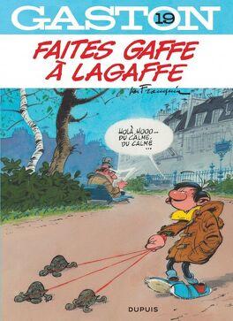 Couverture du livre : Gaston, Tome 19 : Faites gaffe à Lagaffe