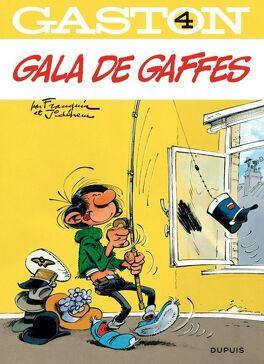 Couverture du livre : Gaston, Tome 4 : Gala de gaffes
