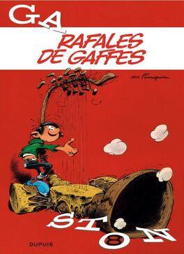 Couverture du livre : Gaston, Tome 8 : Rafales de gaffes