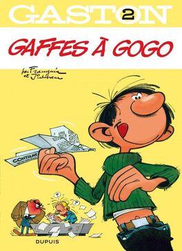 Couverture du livre : Gaston, Tome 2 : Gaffes à gogo
