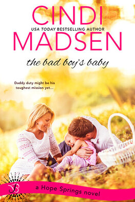 Couverture du livre : Hope Springs, tome 3: the bad boy's baby
