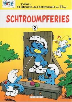 Couverture de Les Schtroumpferies, Tome 2