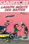 couverture Gaston, Tome 16 : Lagaffe mérite des baffes