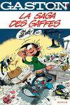 couverture Gaston, Tome 17 : La Saga des gaffes