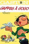 couverture Gaston, Tome 2 : Gaffes à gogo