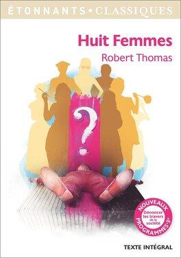 Couverture du livre : Huit femmes