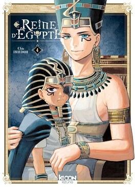 Couverture du livre : Reine d'Égypte, Tome 4