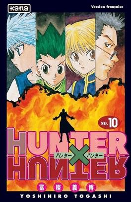 Couverture du livre : Hunter X Hunter, Tome 10