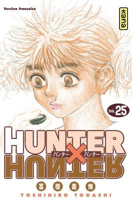 Couverture du livre :  Hunter X Hunter, Tome 25