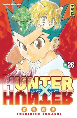 Couverture du livre :  Hunter X Hunter, Tome 26