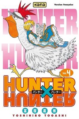 Couverture du livre : Hunter X Hunter, Tome 4