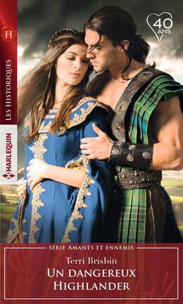 Couverture du livre : Amants et ennemis, Tome 4 : Un dangereux Highlander