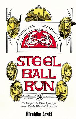Couverture du livre : Jojo's bizarre adventure - Steel Ball Run, Tome 24