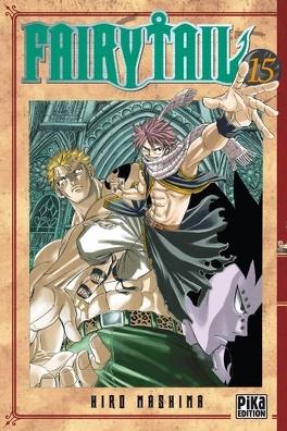 Couverture du livre : Fairy Tail, Tome 15