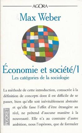 Couverture du livre : Economie et société : Volume 1, Les catégories de la sociologie