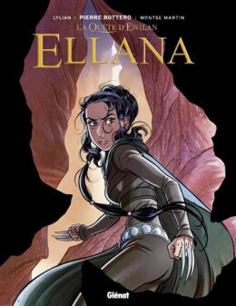 Couverture du livre : Ellana, Tome 3 : Lames (BD)