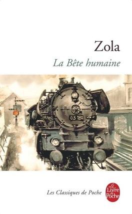 Couverture du livre : La Bête humaine