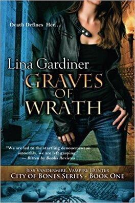 """Couverture du livre : City of Bones book 1 : """"Graves of Wrath"""""""