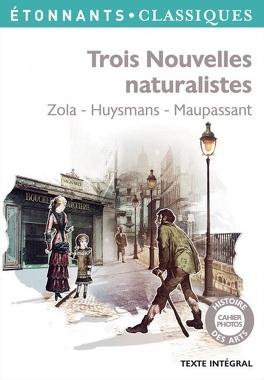 Couverture du livre : Trois nouvelles naturalistes