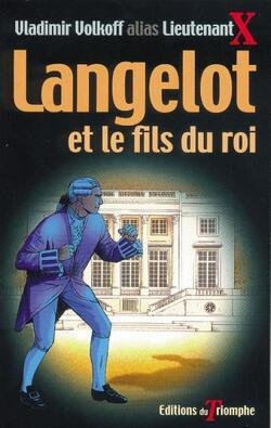 Couverture de Langelot, tome 21 : Langelot et le fils du roi