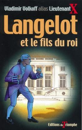 Couverture du livre : Langelot, tome 21 : Langelot et le fils du roi