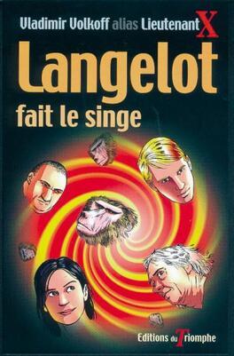 Couverture du livre : Langelot, tome 22 : Langelot fait le singe