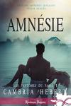 couverture Les fantômes du passé, Tome 1 : Amnésie