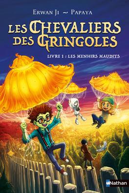 Couverture du livre : Les chevaliers des Gringoles tome 1: les menhirs maudits