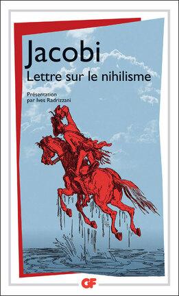 Couverture du livre : Lettre sur le nihilisme