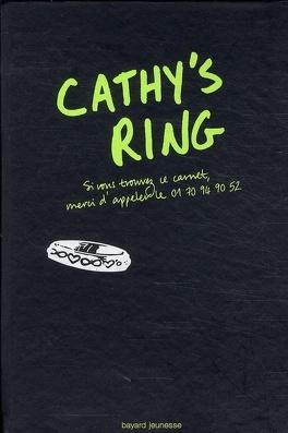 Couverture du livre : Cathy's ring