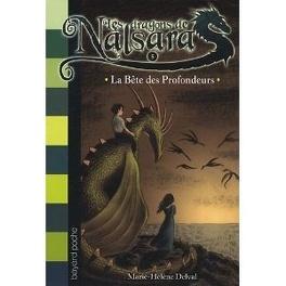Couverture du livre : Les dragons de Nalsara, Tome 5 : La bête des profondeurs