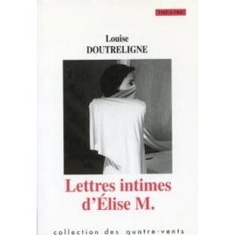 Couverture du livre : Lettres intimes d'Elise M.