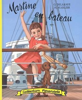 Couverture du livre : Martine en bateau