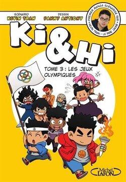 Couverture de Ki & Hi, Tome 3 : Les Jeux olympiques
